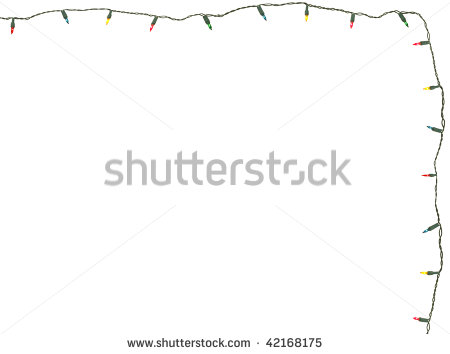 String Of Christmas Lights Stock Photos String Of Christmas