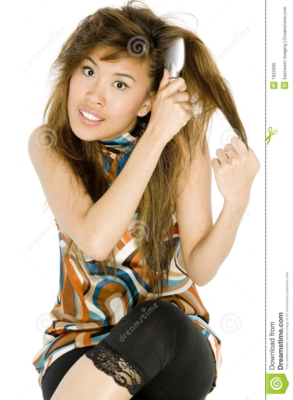 Tangled Hair Royalty Free Stock Photo   Image  1822685