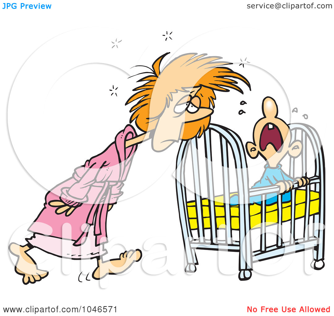 Tired Mom Clipart - Clipart Kid