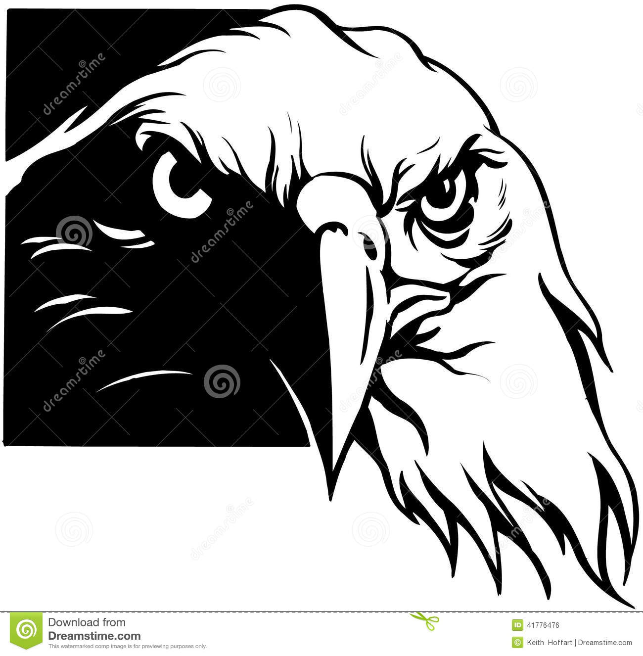 Usa Eagle Cartoon Vector Clipart Created In Adobe Illustrator In Eps