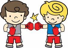 Boxing Boy Stock Vectors Illustrations   Clipart