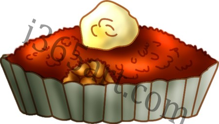 Brown Apple Betty Clipart