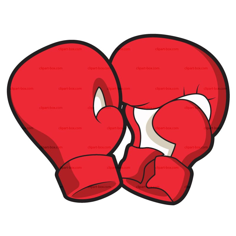 Clipart Boxing Gloves   Royalty Free Vector Design
