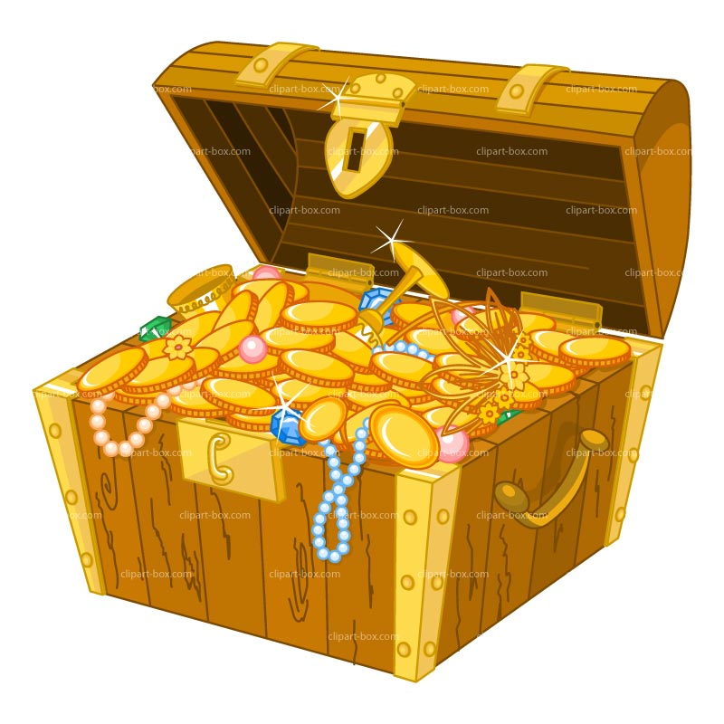 Clip Art Treasure Clipart treasure box clipart kid chest royalty free vector design