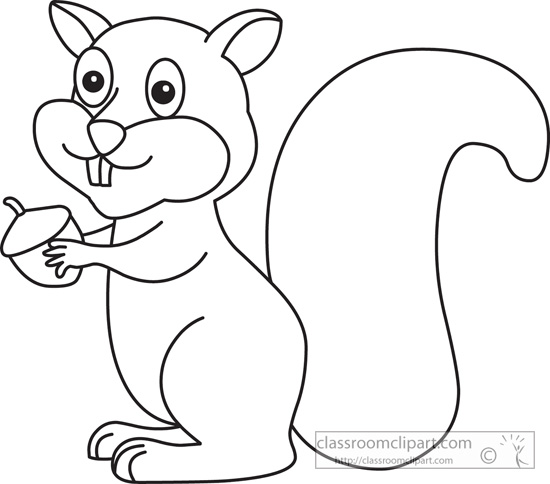 Download Squirrel 1029 Outline
