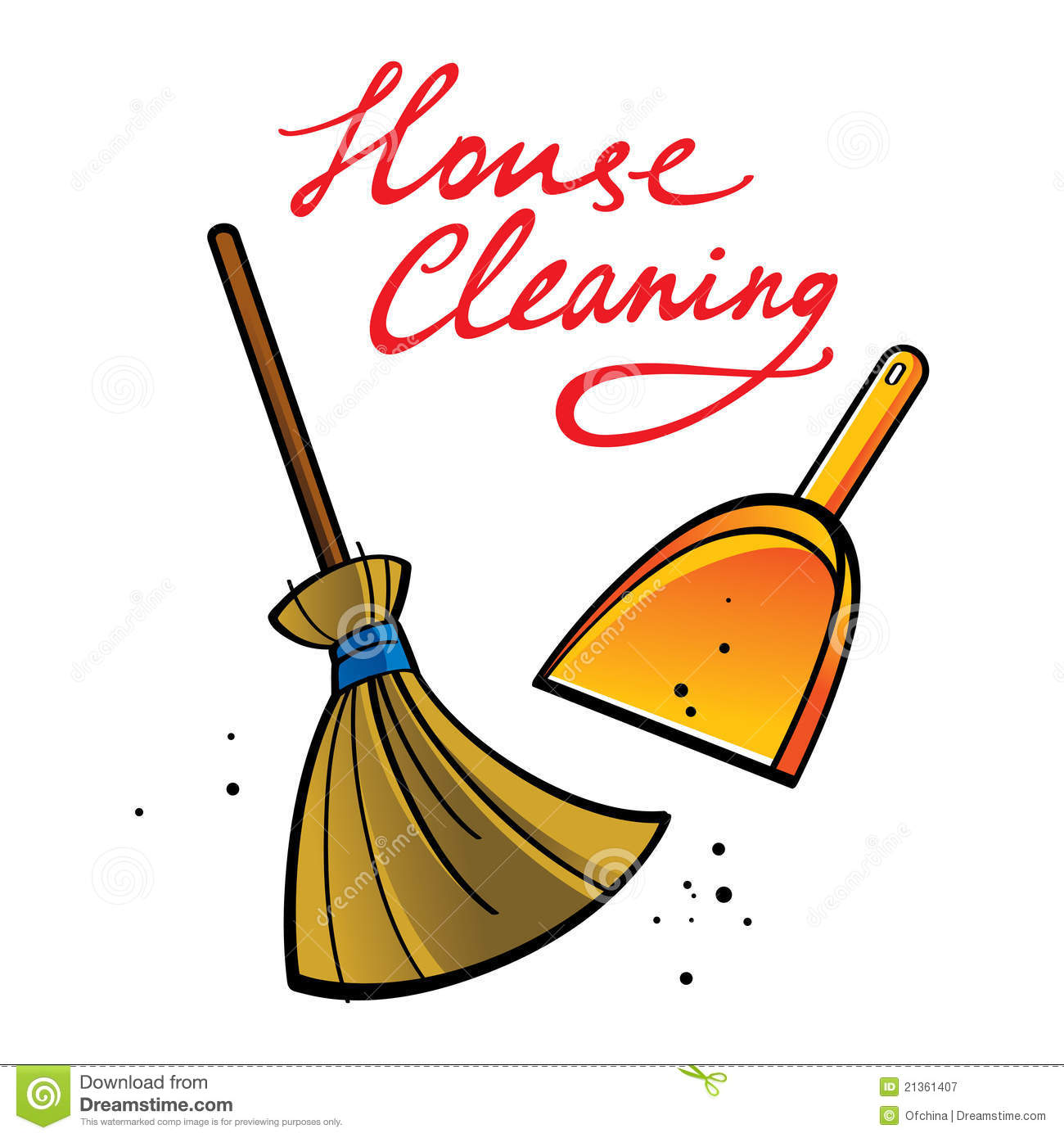 House Cleaning  Country House Cleaning Clip Art