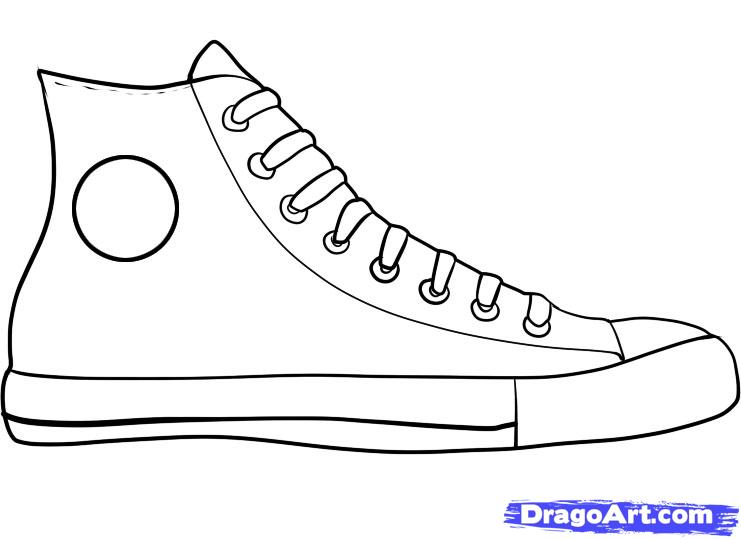 How To Draw Converse How To Draw Chuck Taylors Step By Step Fashion