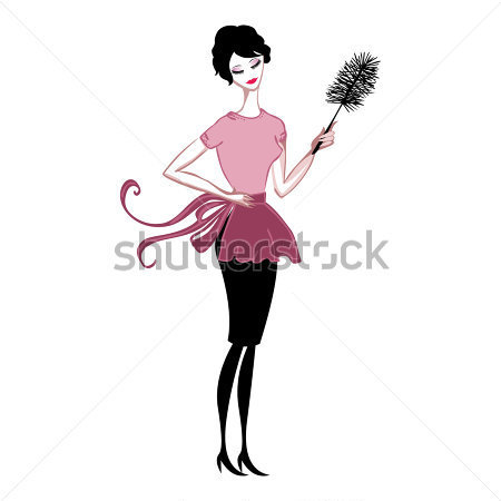 Professional cleaning lady clipart clipart suggest for Limpiar el polvo