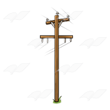 Power Pole Clip Art