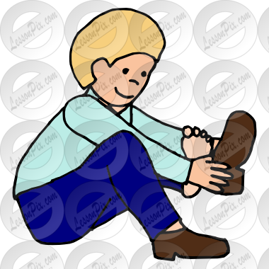 Put On Shoes Clipart Put On Shoes Picture