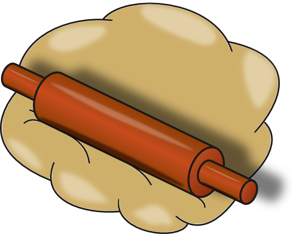 Rolling Pin Clip Art At Clker Com   Vector Clip Art Online Royalty