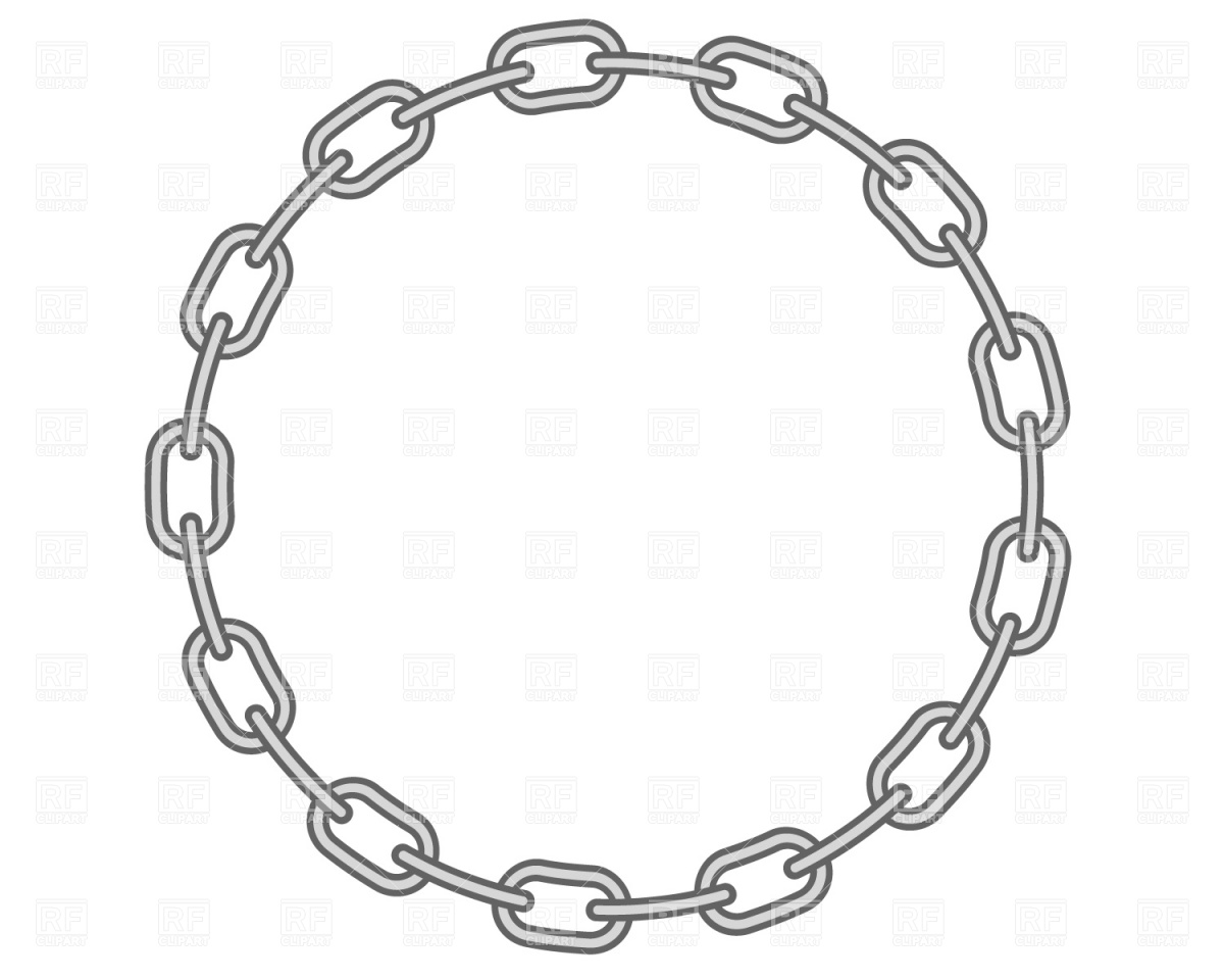 Round Chain Frame Download Royalty Free Vector Clipart  Eps