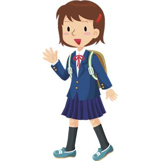 School Girl Cartoon Cliparts Co #FCSURe - Clipart Kid