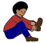 Shoes Picture For Classroom   Therapy Use   Great Put On Shoes Clipart