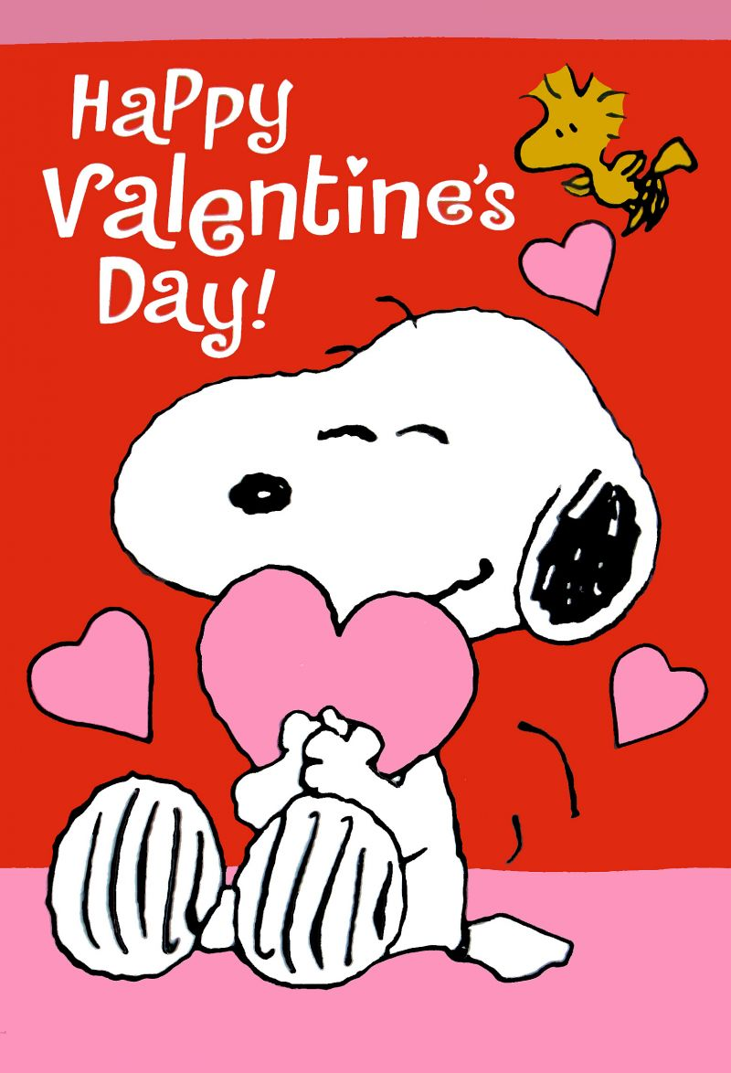Snoopy Happy Valentine's Clipart - Clipart Kid
