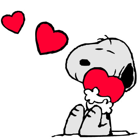 Valentine's Day Snoopy Clipart - Clipart Kid