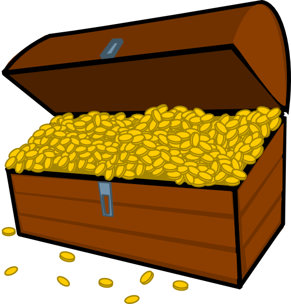 Treasure Box Clip Art At Clker Com   Vector Clip Art Online Royalty