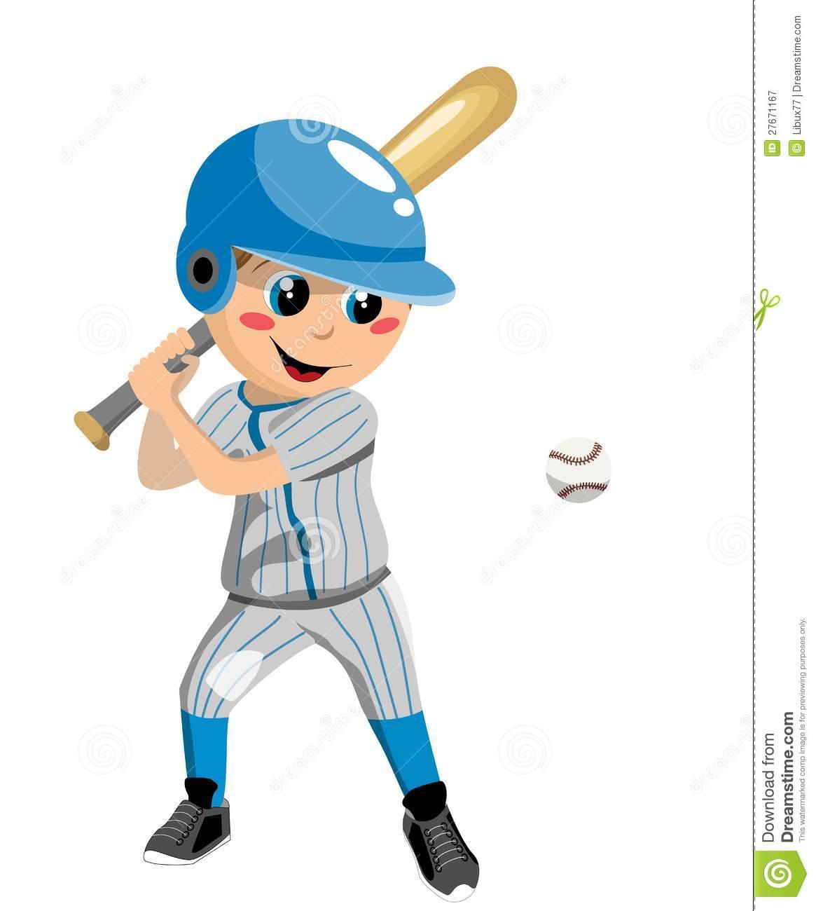 Boy Baseball Player Clipart - Clipart Kid