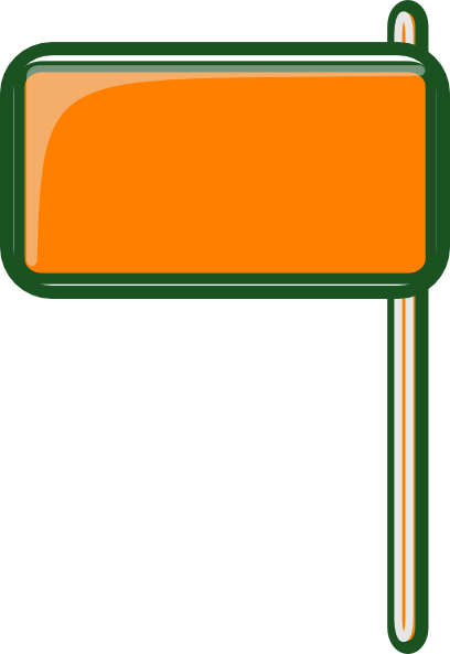 Highway Sign Blank Clip Art At Clker Com   Vector Clip Art Online