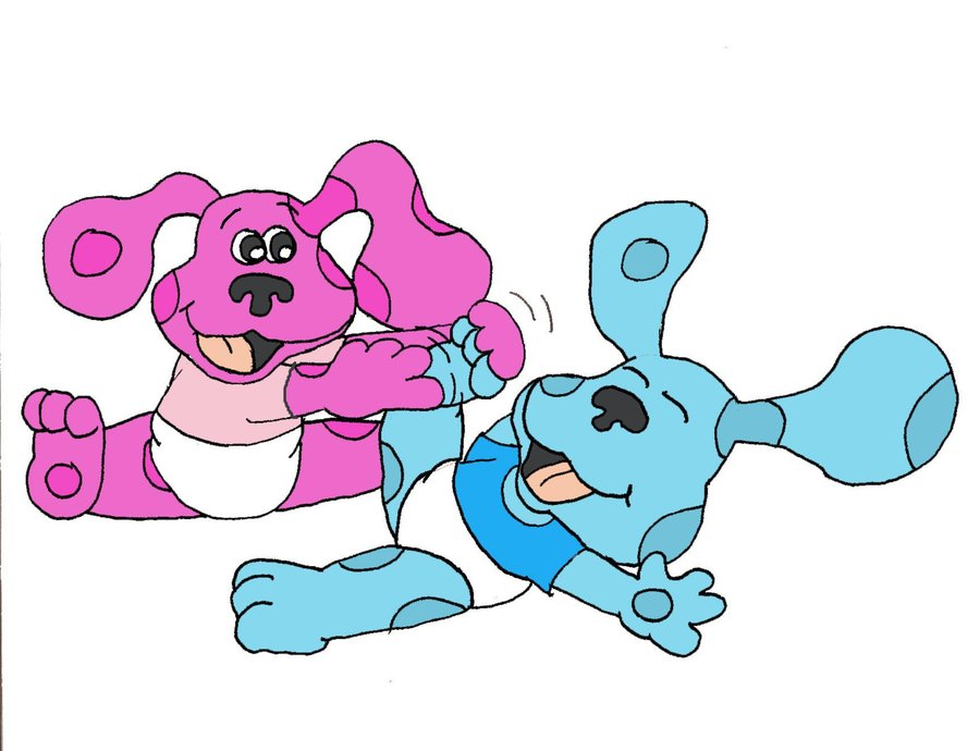 Watch more like Magenta From Blue S Clues