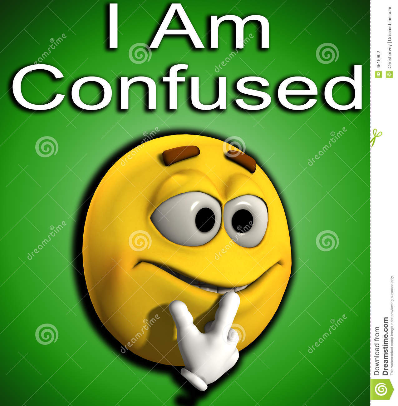 More Similar Stock Images Of   I Am Confused 7