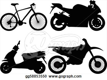 Motorcycle Tire Clip Art
