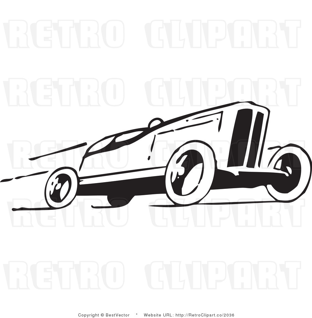 Vintage Mustang Car Clipart - Clipart Kid