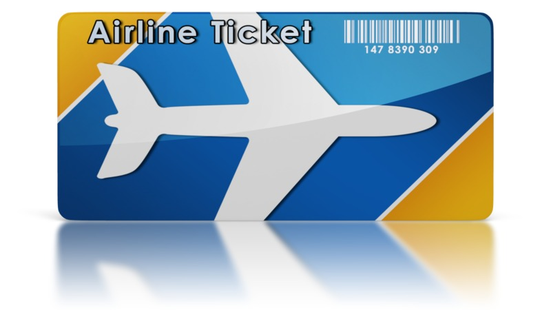 Plane Ticket Clipart - Clipart Kid