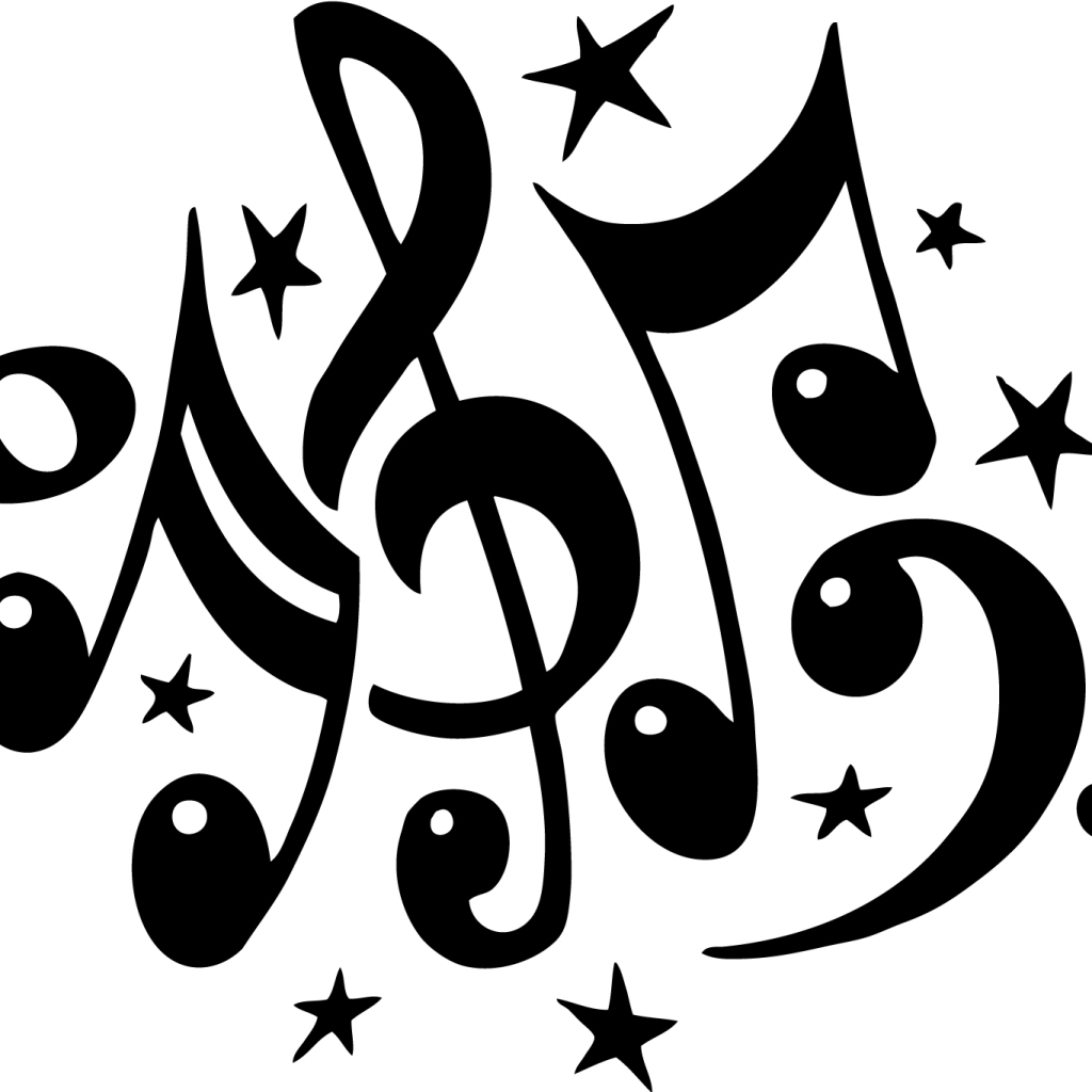 Rap Clipart 1367533382 Music Notes Clipart 7 Jpg