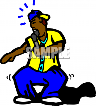 Royalty Free Rap Clipart