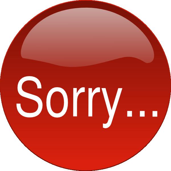 Clip Art Sorry Clipart im sorry clipart kid clip art vector clip
