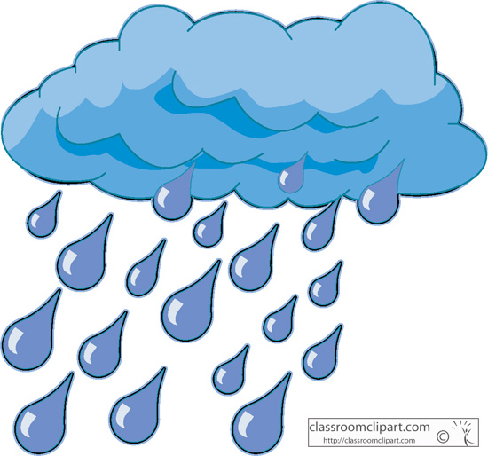 Raining Weather Clipart - Clipart Kid