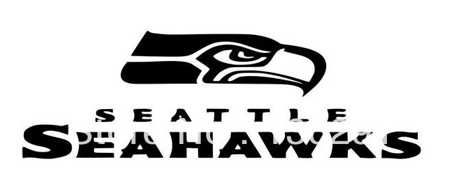 Black And White Seahawks Logo Drawing Pictures To Pin On