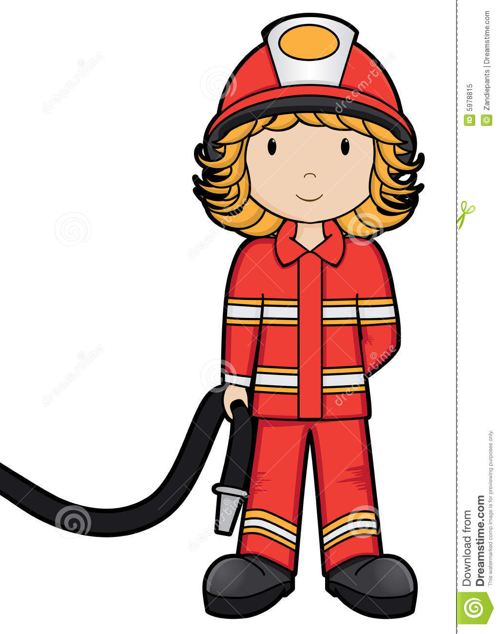Girl On Fire Clipart - Clipart Kid