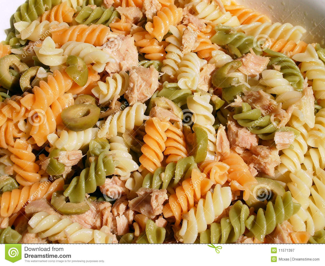 Macaroni Pasta Salad Royalty Free Stock Photography   Image  11571397
