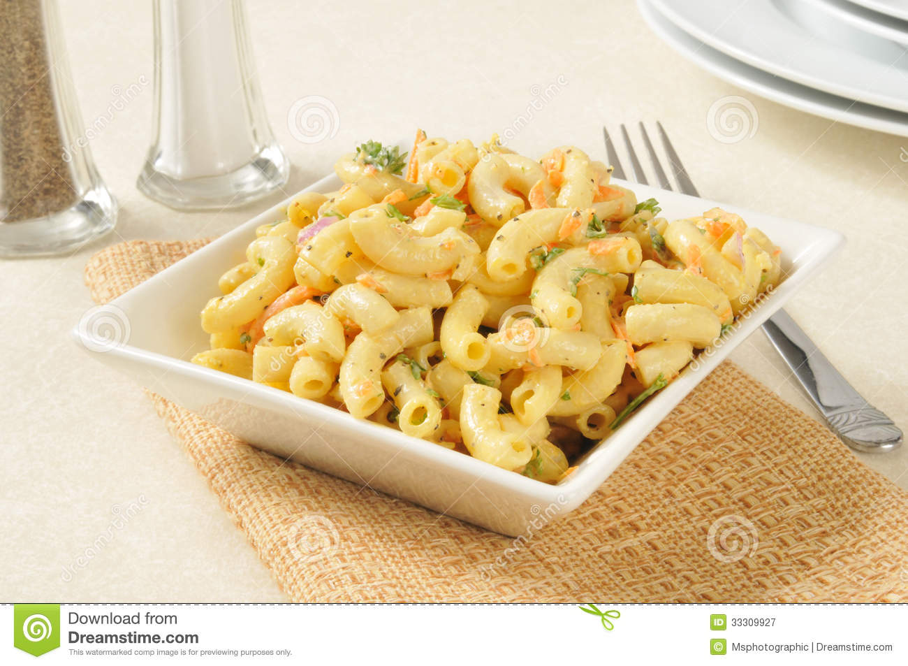 Macaroni Salad Royalty Free Stock Photography   Image  33309927
