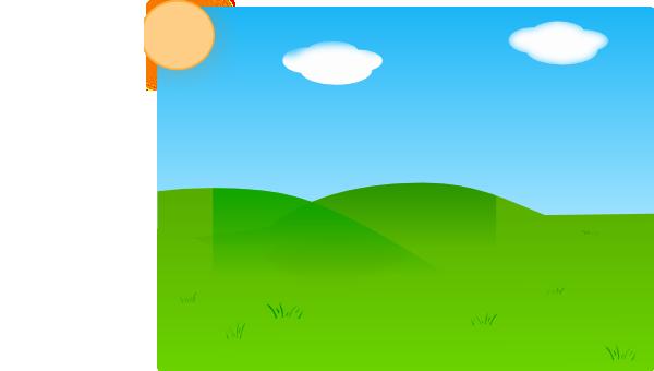 Plain Farm Background Clip Art At Clker Com   Vector Clip Art Online
