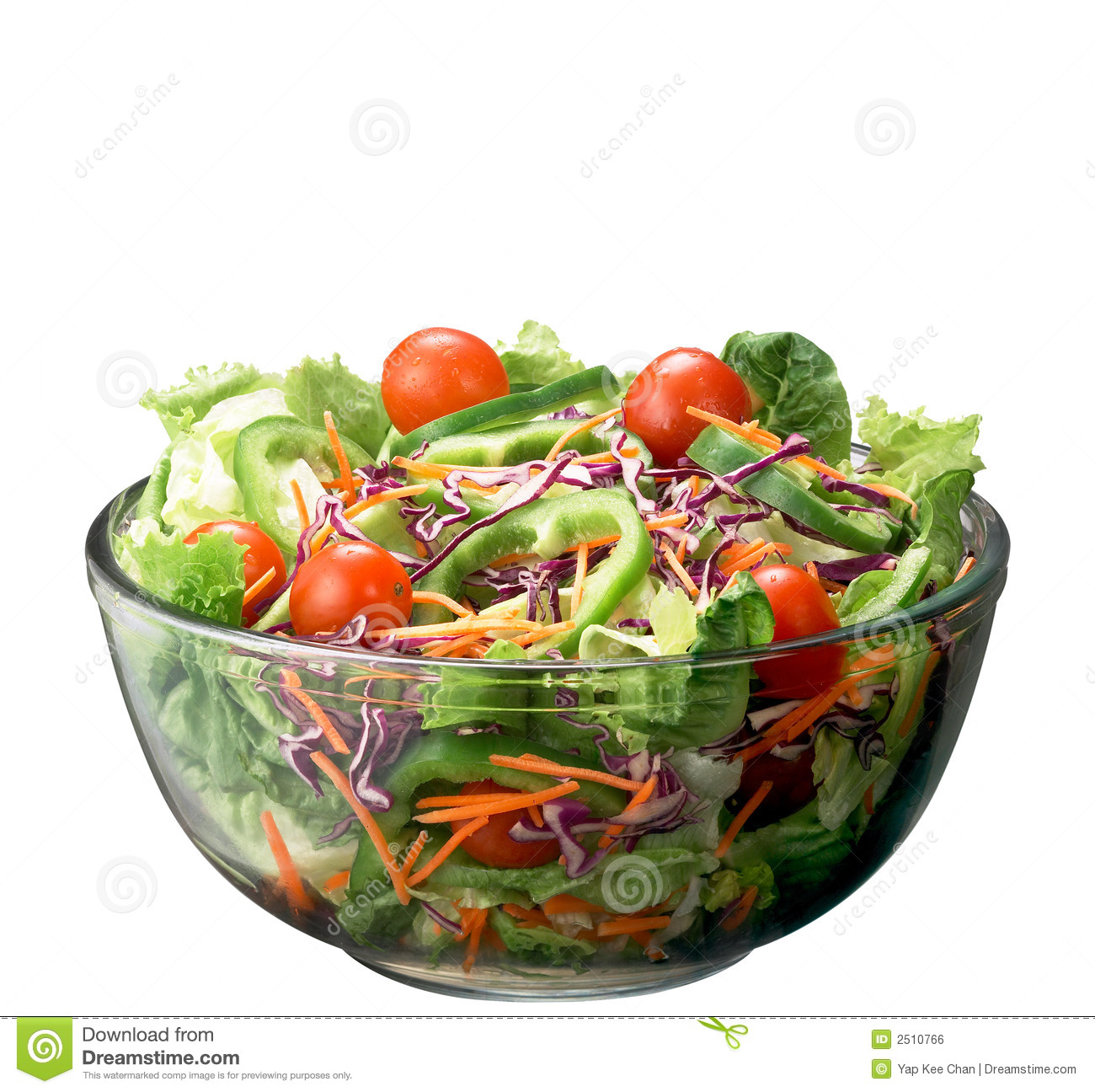 Salad With Fresh Lettuce Leaves Tomatofeta Olives Pepper