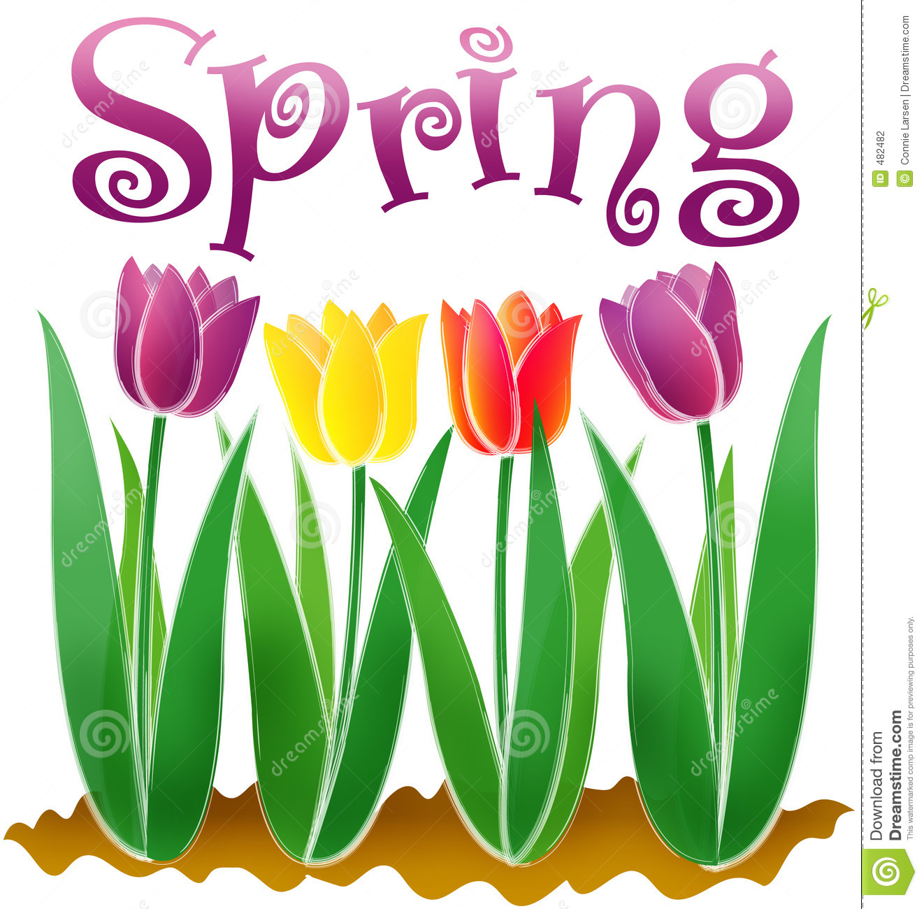 Spring Season Clipart - Clipart Kid