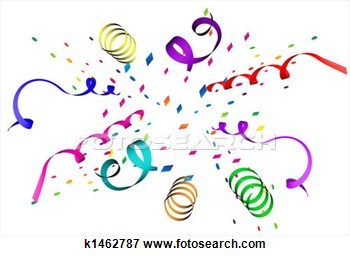 Stock Illustration Of Confetti Explosion K1462787   Search Eps Clipart