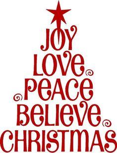 Tile Gift For Neighbors Or Self    Hmmmm Joy Love Peace Believe