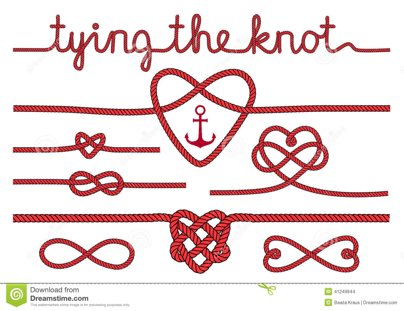tying the knot clipart   clipart suggest