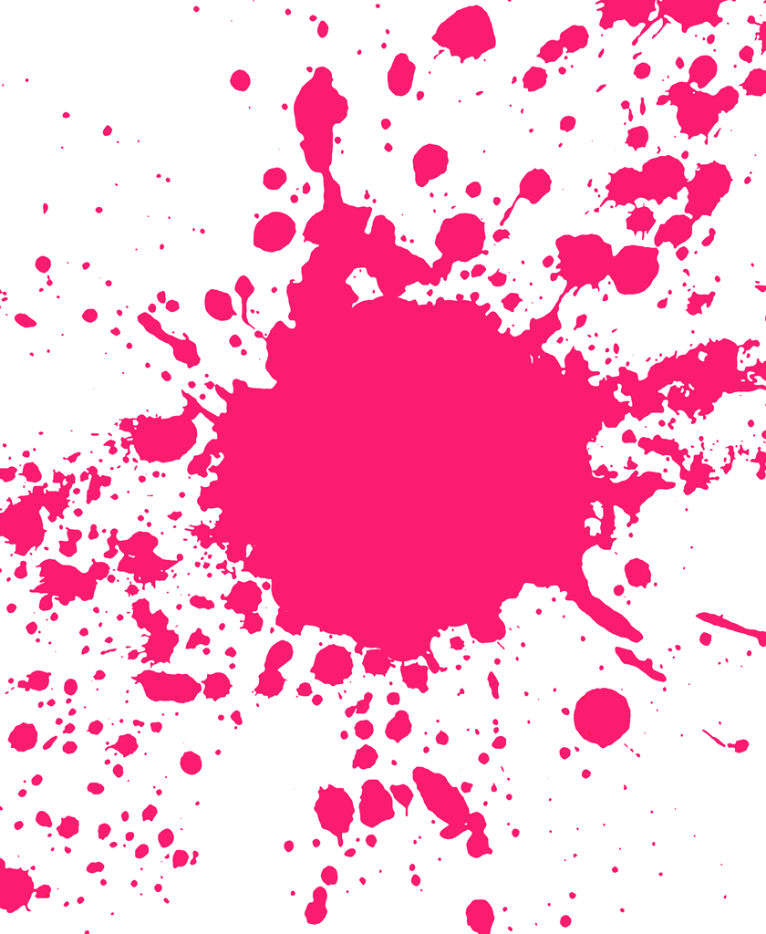 10 Pink Splatter Paint Free Cliparts That You Can Download To You