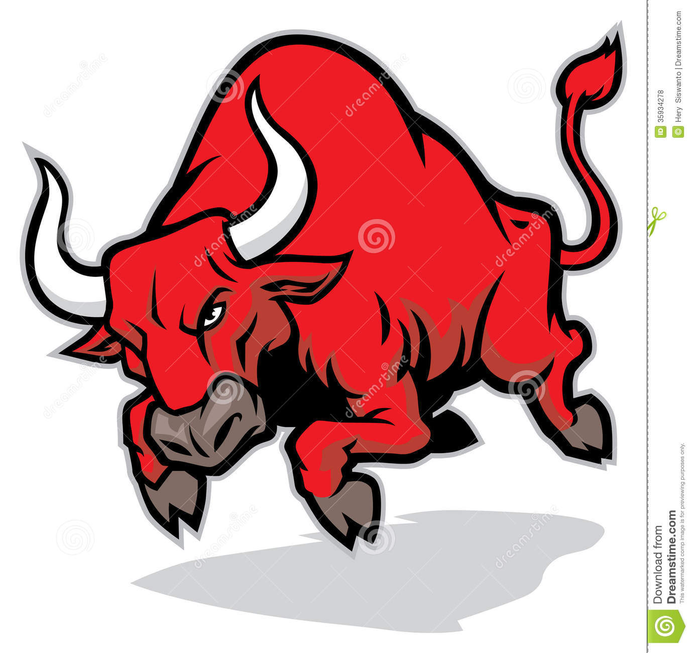 Angry Bull Clipart - Clipart Kid