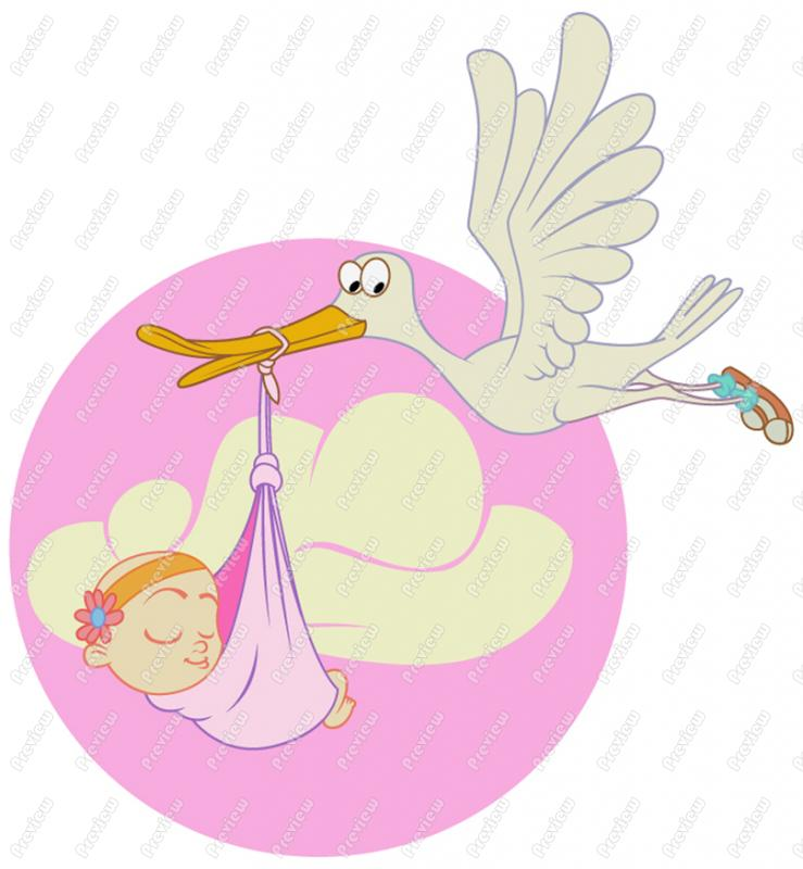 Animated Baby Girl Clip Art
