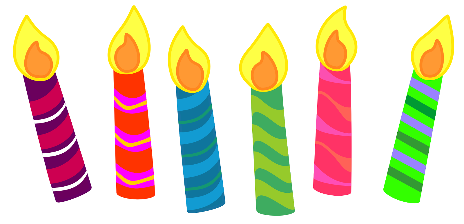 Clip Art Birthday Candle Clipart birthday candle clipart kid click here for single tier yellow cake with no candles