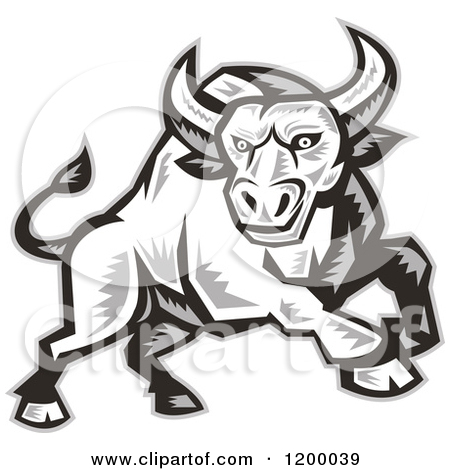 angry bull head logo - photo #14