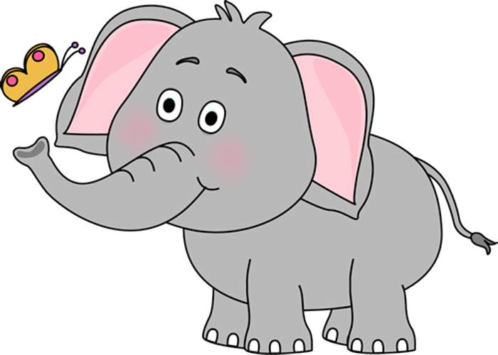 Elephant Clipart - Clipart Kid