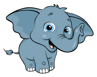 microsoft clip art elephant - photo #23