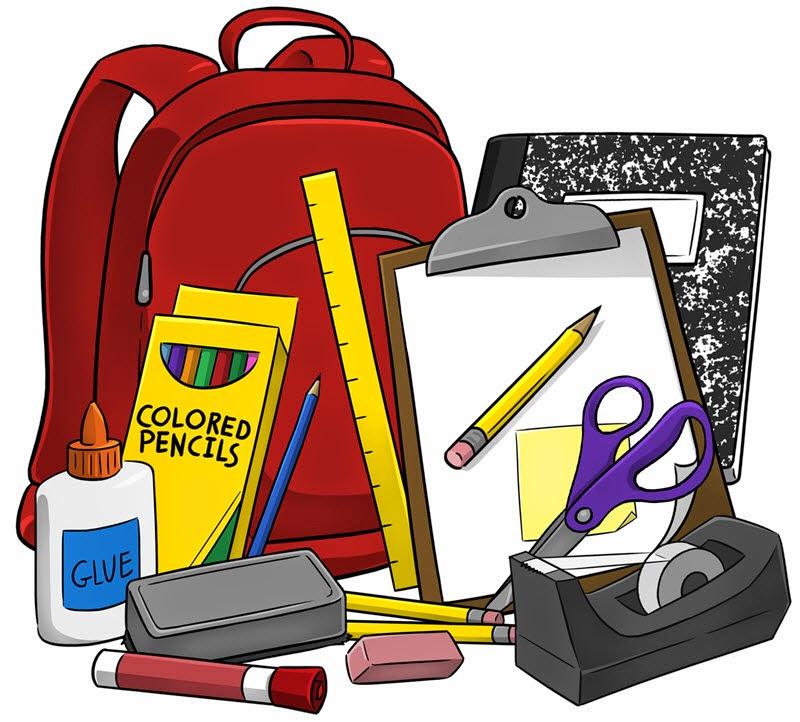 Cute School Supply Clipart - Clipart Kid
